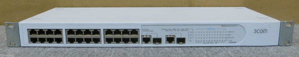 3COM 3C16475BS Baseline Switch 2226 Plus P/N 1647-510-150-3.00